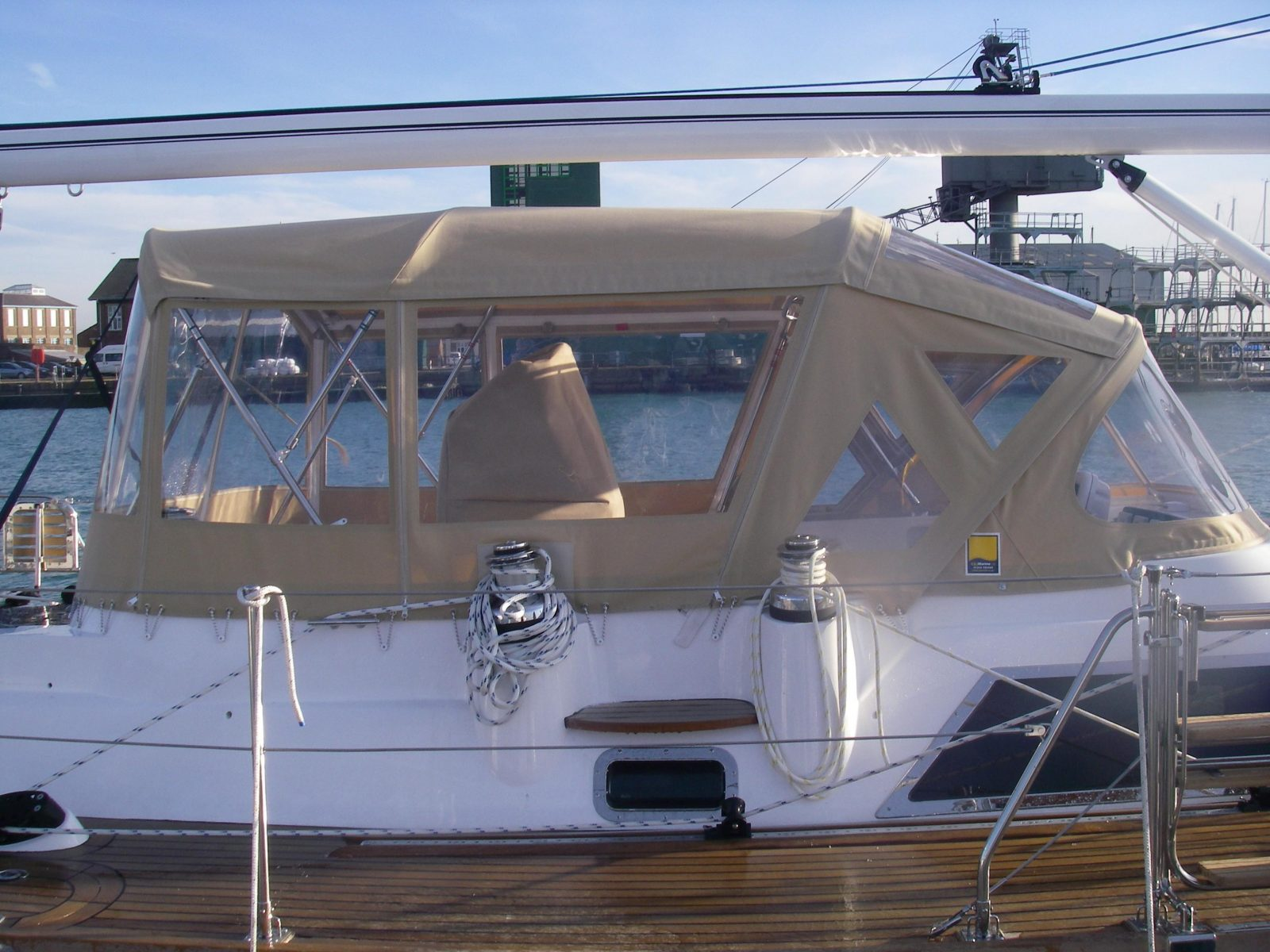 Bimini Enclosure - C&J Marine, Leading manufacturer of top quality