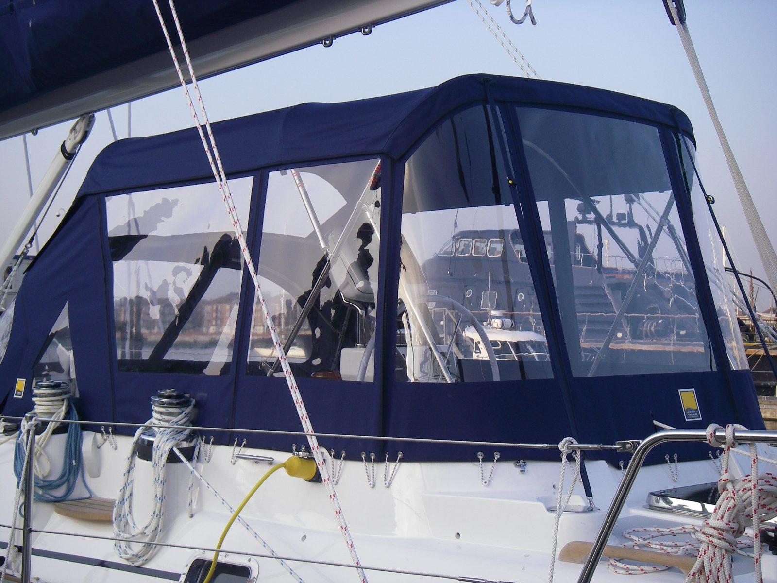Bimini Enclosure - C&J Marine, Leading manufacturer of top