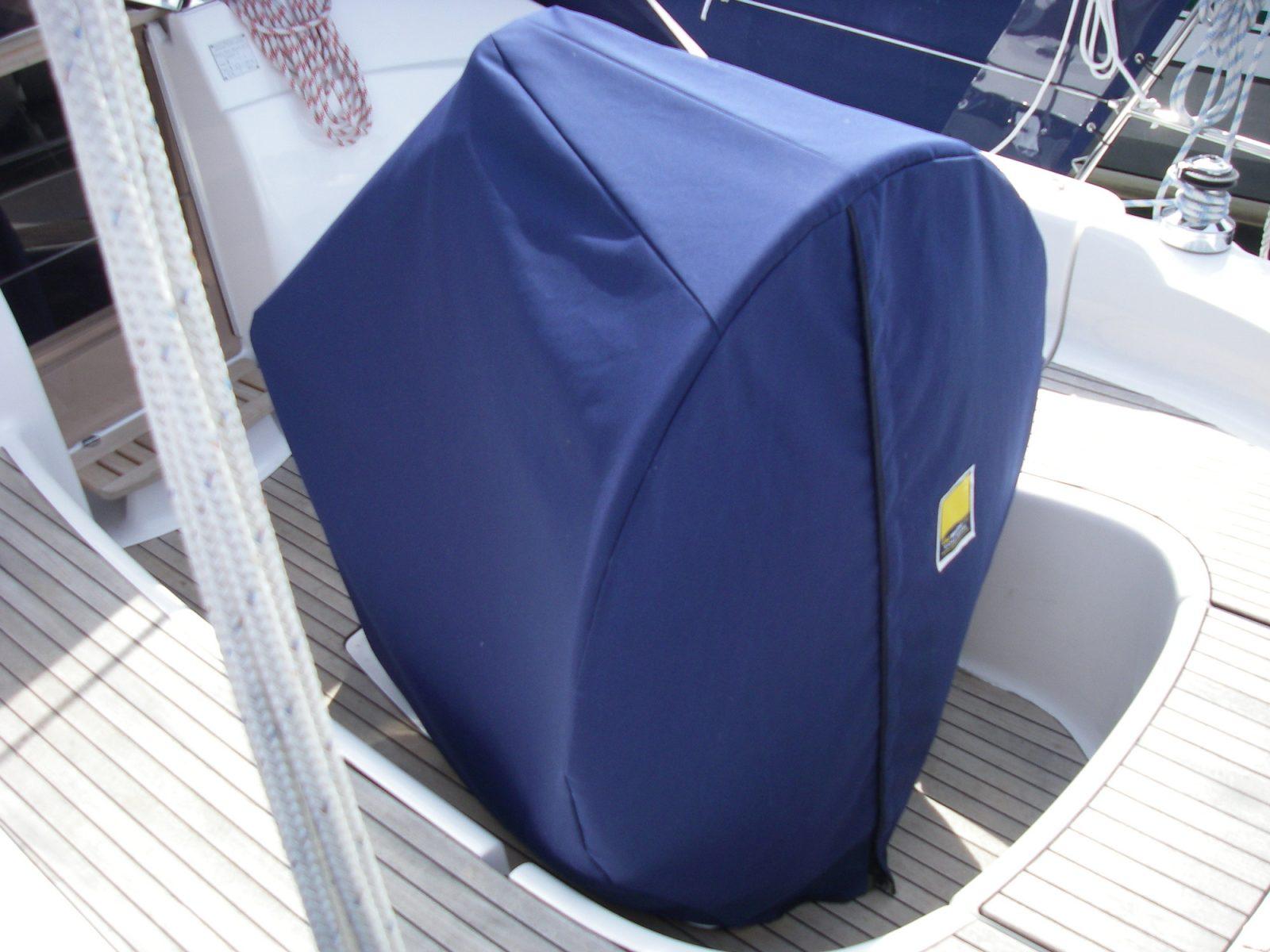 Wheel & Pedestal Cover - C&J Marine, Leading manufacturer of